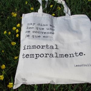 Bolsa de tela inmortal